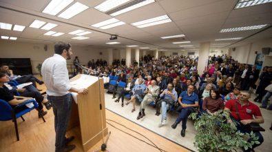 Il candidato a sindaco Pazzano: «In cammino per cambiare la città»