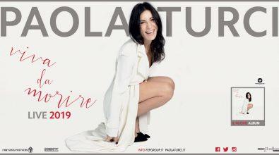 """Al Cilea, Paola Turci in concerto con """"Viva da morire"""" il 30 novembre"""