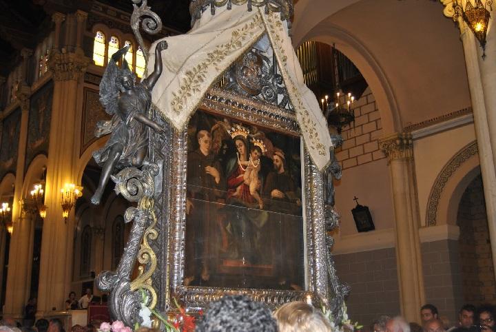 Feste mariane a Reggio Calabria, orari e indicazioni per visitare l'effigie al Duomo
