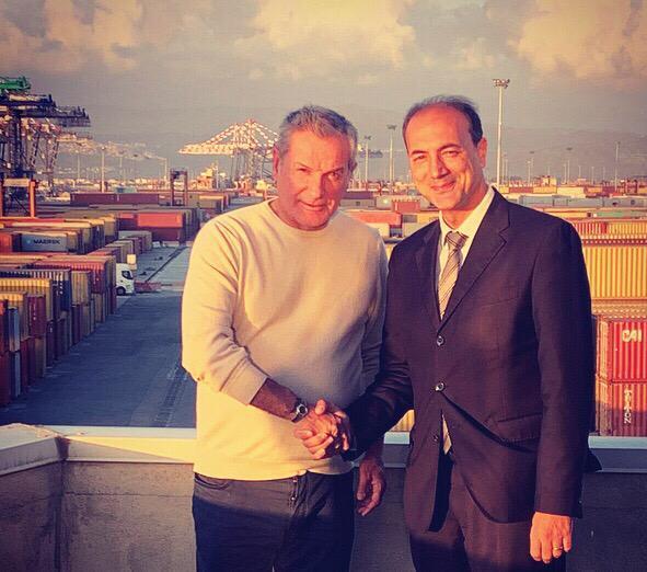 Giannetta incontra Agostinelli. «La nuova governance produce risultati»
