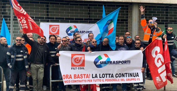 I sindacati alzano i toni della protesta per i diritti dei lavoratori Blu Jet