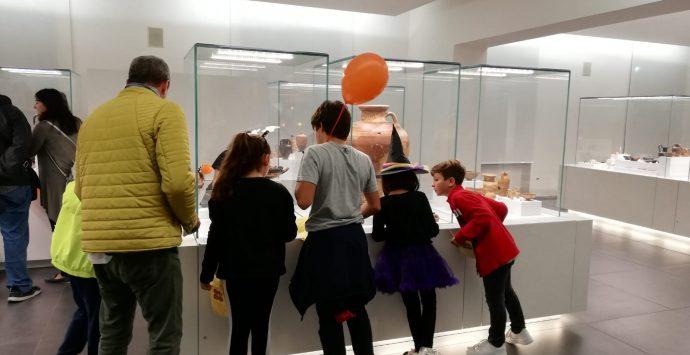 Halloween al MArRC: oltre 400 visite. Domenica ingresso gratis
