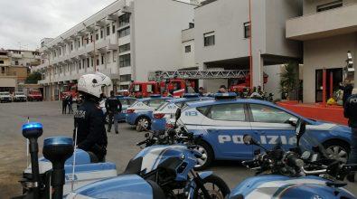 La sezione volanti della Polizia rende omaggio a Nino Candido