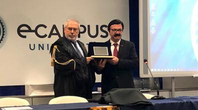 Bova, laurea honoris causa al sindaco per la salvaguardia della lingua dei greci di Calabria