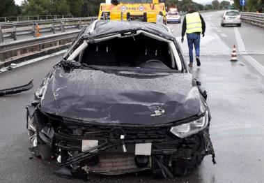 Incidente stradale per l'auto del procuratore Petralia: tre feriti, grave un carabiniere