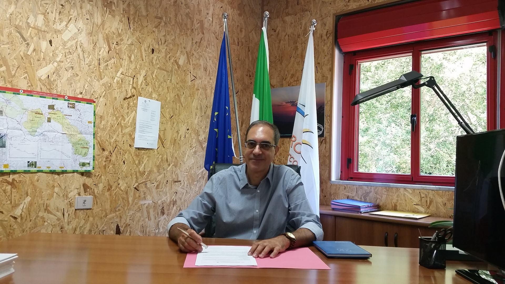 Parco d'Aspromonte, il lungo addio al direttore Sergio Tralongo