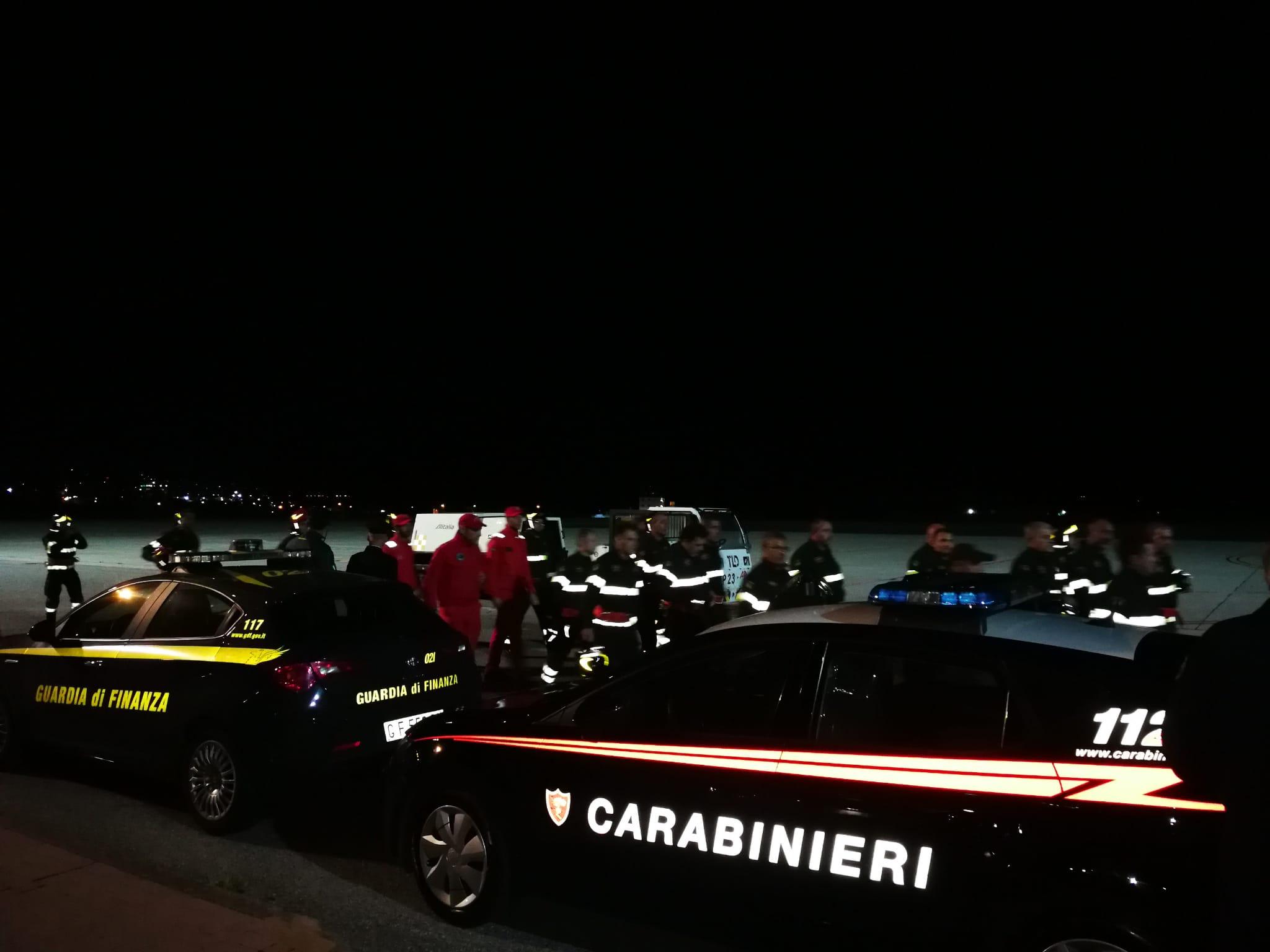 In arrivo all'aeroporto di Reggio la salma di Antonino Candido