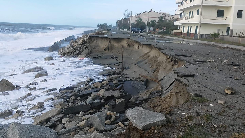 Stato di calamità naturale a Bova Marina. Oltre un milione di danni