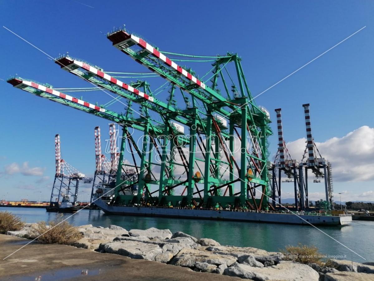 Gioia Tauro, il viceministro Morelli in vista al porto