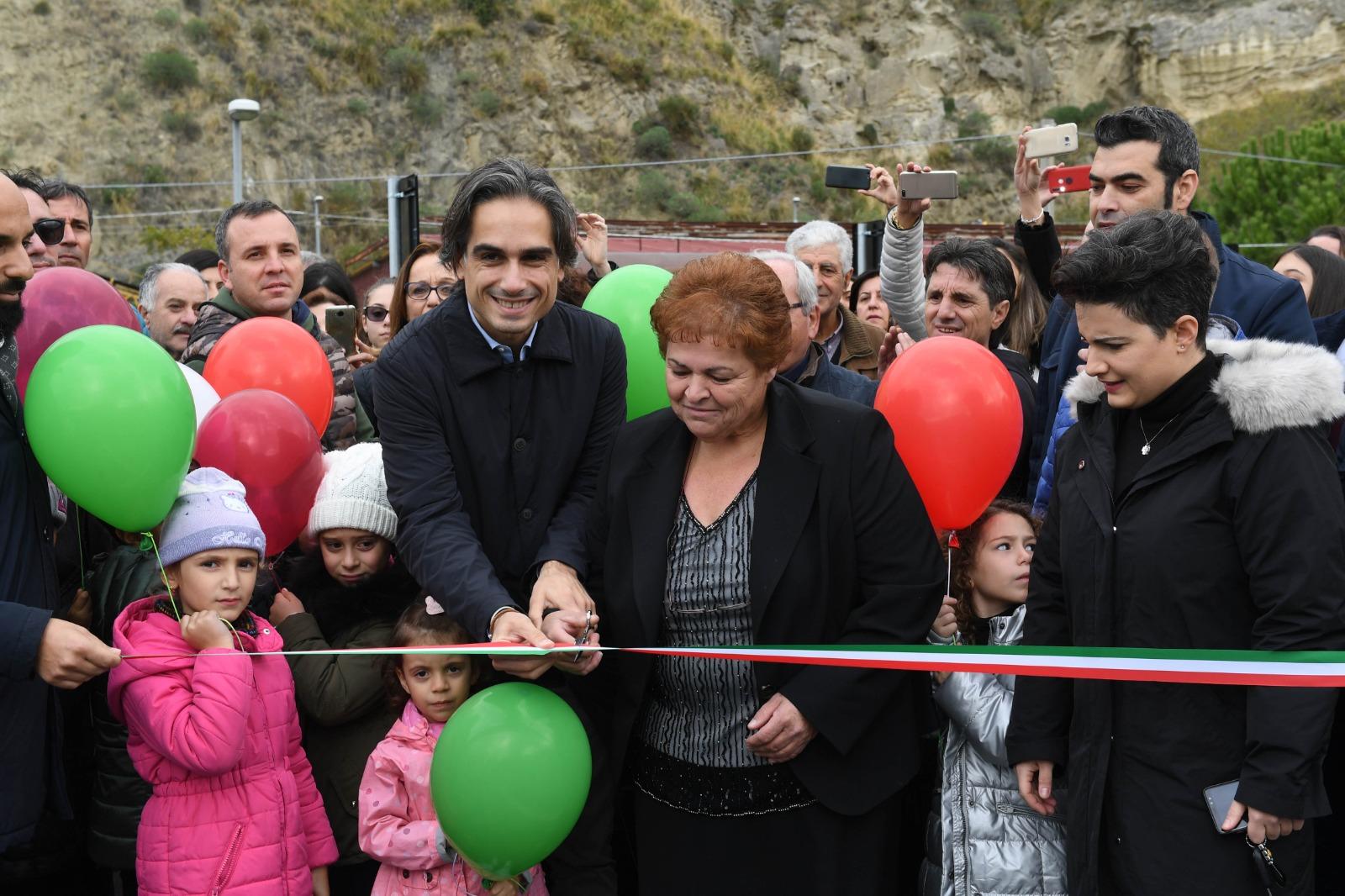 Inaugurato il nuovo Ponte di Paterriti, Falcomatà: «Obiettivo raggiunto»