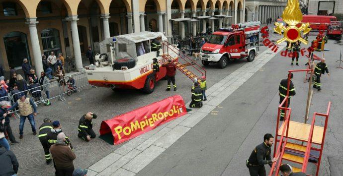 """""""Pompieropoli"""", domenica appuntamento a piazza Italia"""