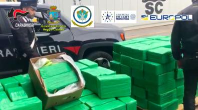 Sequestro record al porto di Gioia, rinvenuti 1200 chili di cocaina