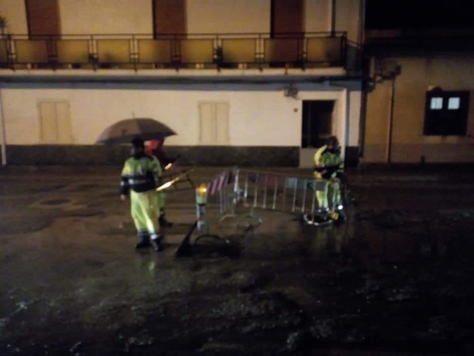 Forte maltempo nella Locride, nubifragio in corso a Reggio