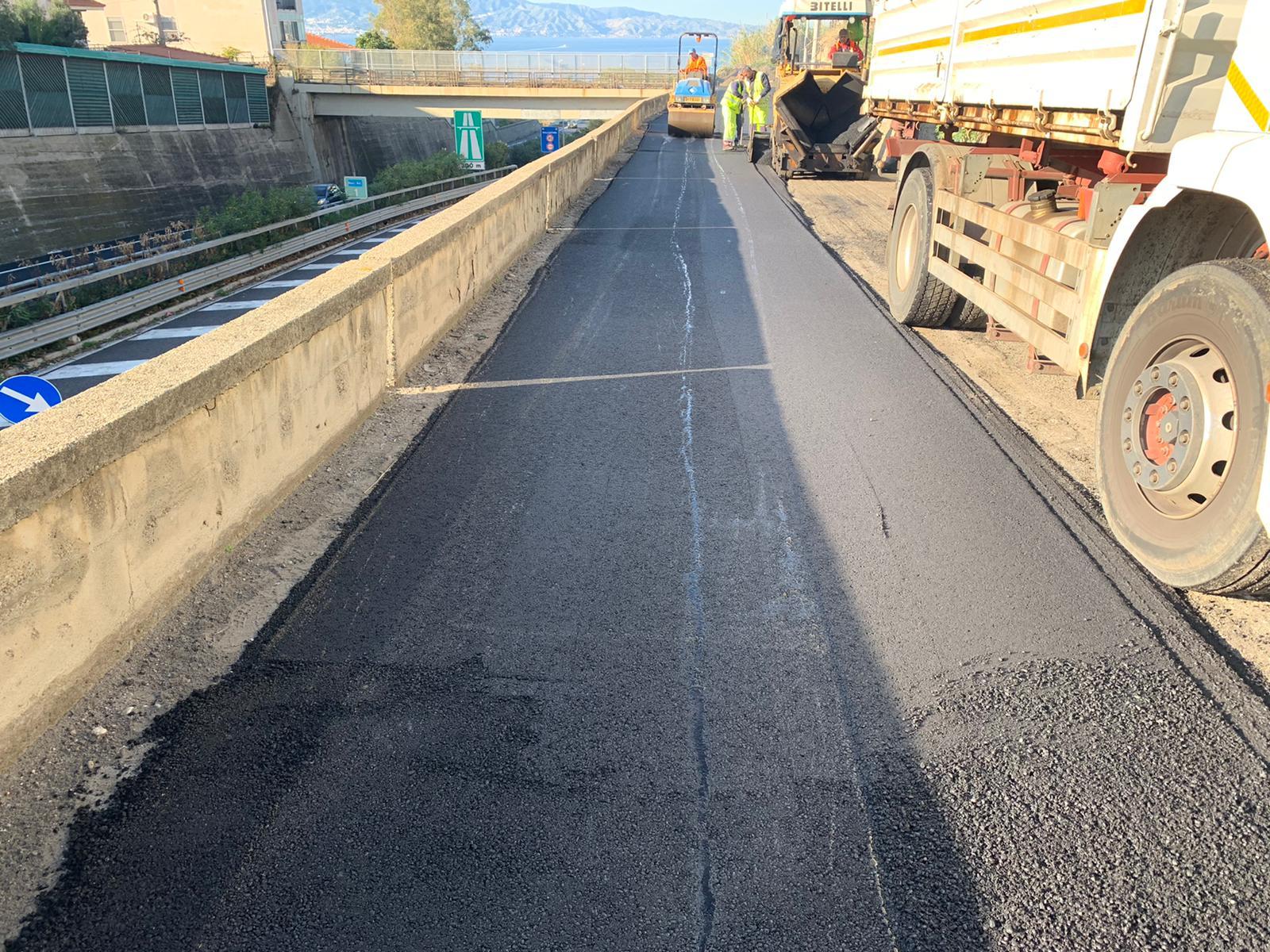 Via Montevergine Petti, completata la riqualificazione della strada