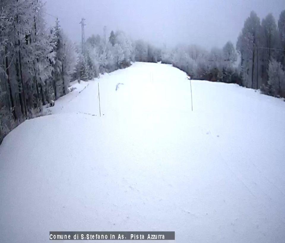 Gambarie, arriva la neve. Boom di turisti per Capodanno
