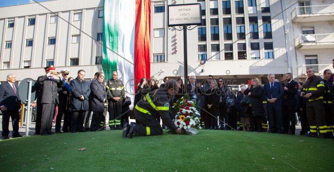 Reggio, la festa dei vigili del fuoco nel ricordo di Nino Candido