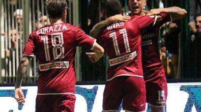 Serie B, Reggina raggiunta nel finale a Chiavari. Contro l'Entella finisce 1-1
