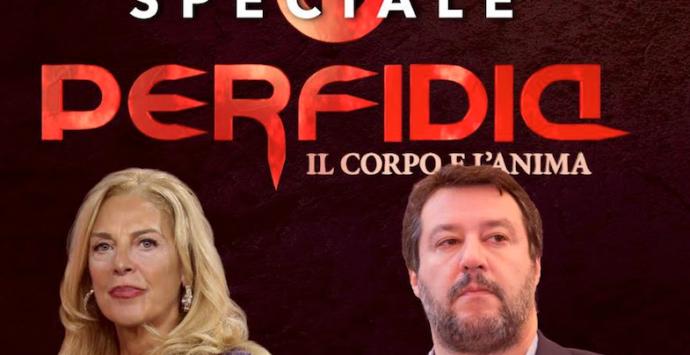 """Speciale """"Perfidia"""", stasera Antonella Grippo intervista Matteo Salvini"""
