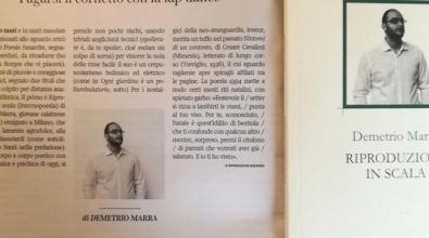 """""""Riduzioni in scala"""", il primo libro di poesie di Demetrio Marra"""