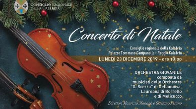 A Palazzo Campanella il concerto di Natale con le orchestre provinciali