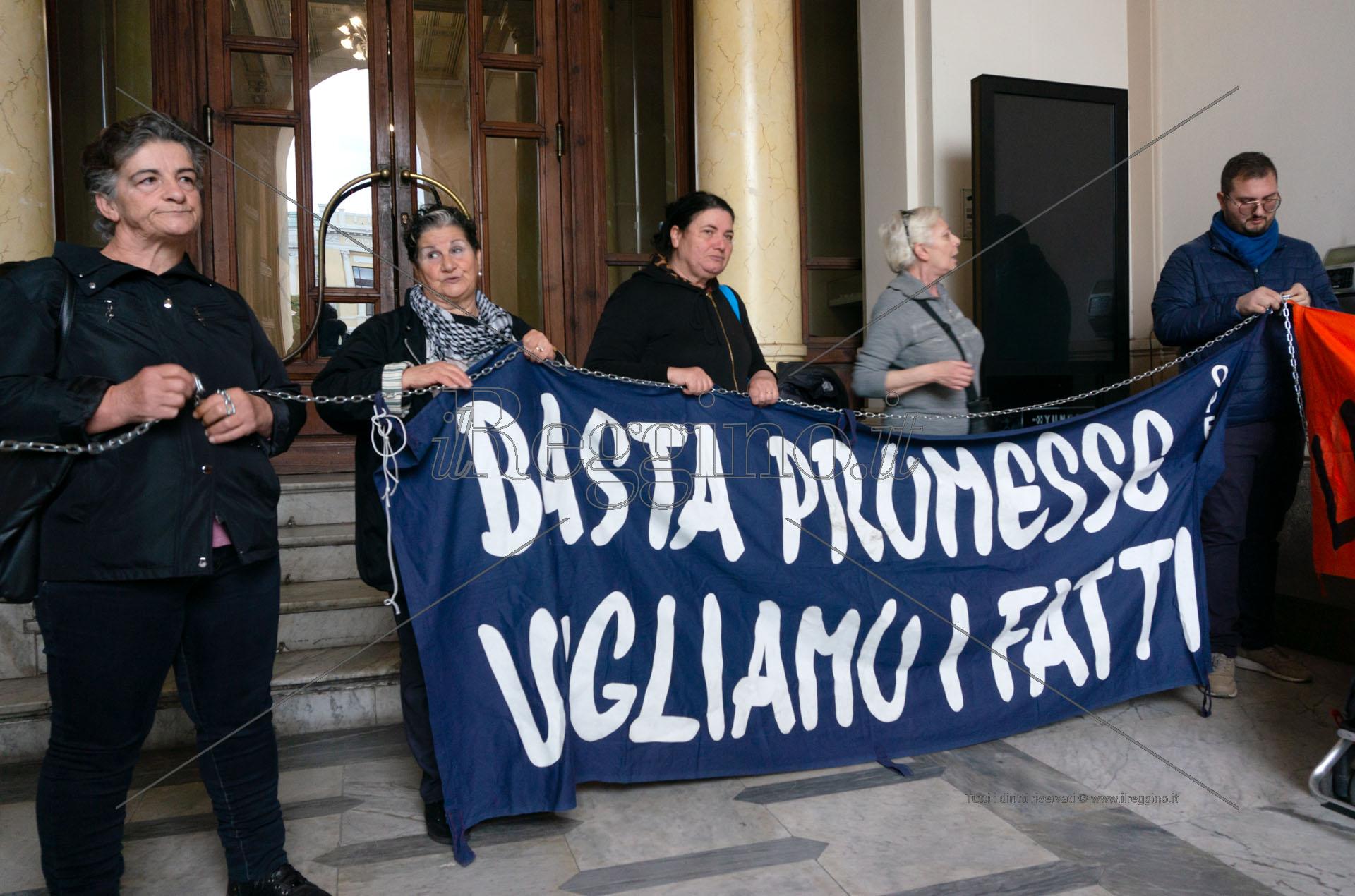 Reggio, «il mancato cambio d'alloggio dietro la negazione del diritto alla casa»