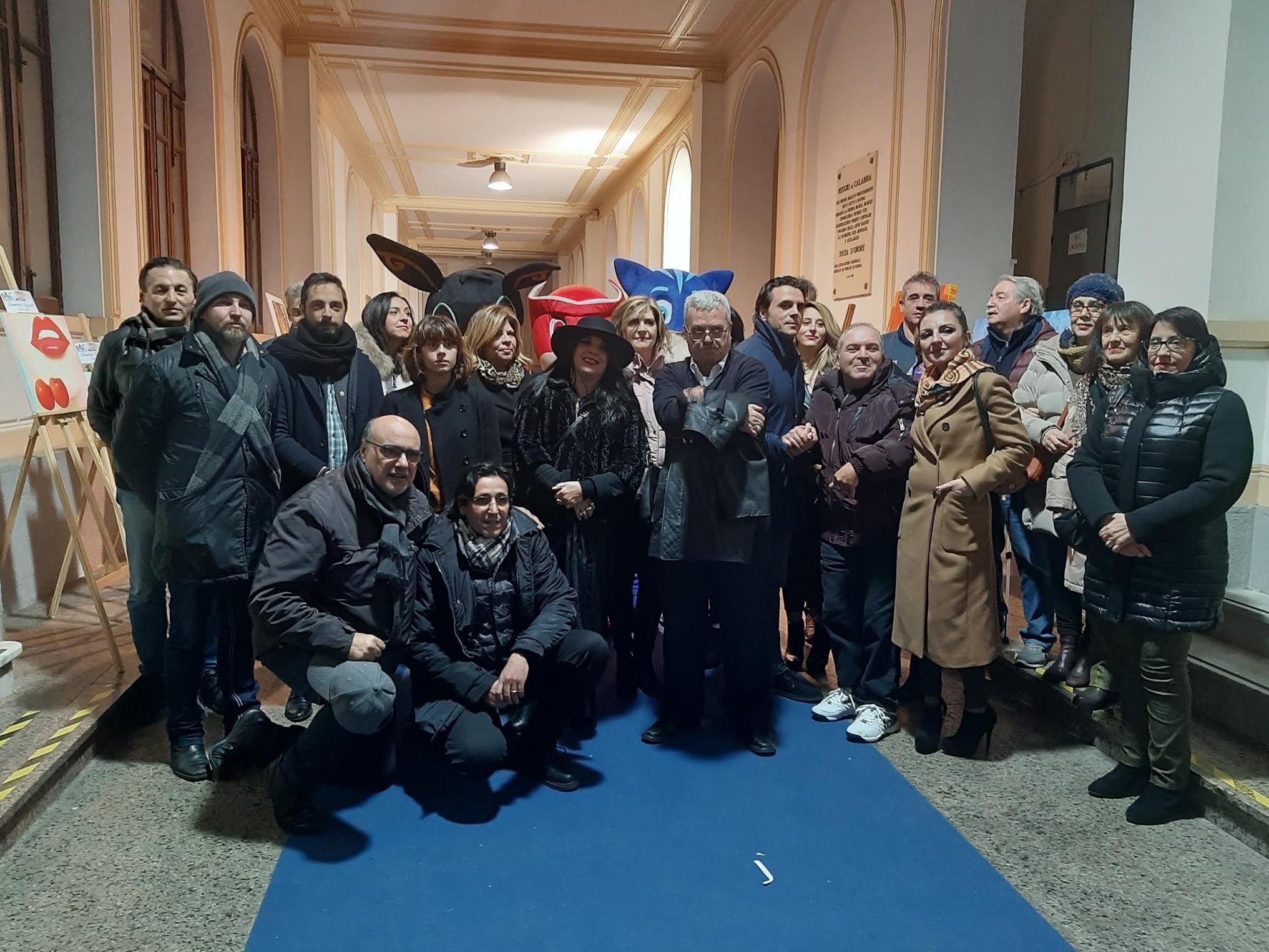 Un tuffo nell'arte, proclamati i vincitori della mostra collettiva