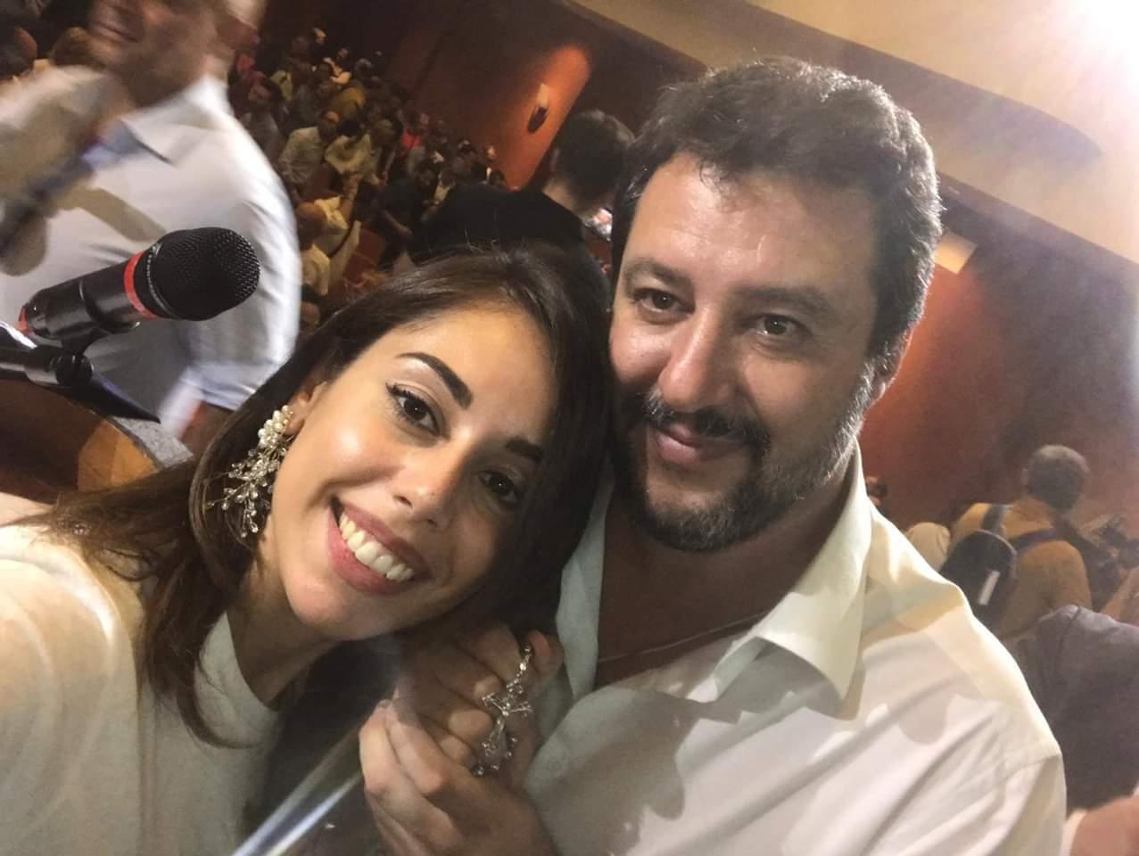 L'arrivo del leader della Lega Salvini anticipato dalla Porpiglia