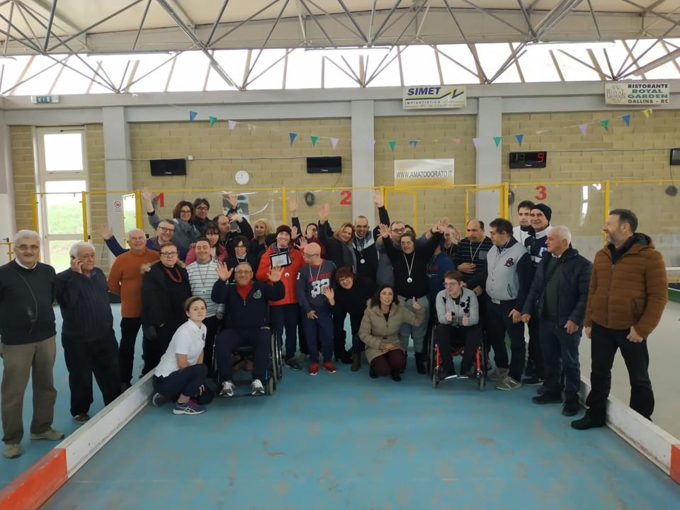 Bocce per il sociale a Reggio, una gara riservata agli atleti disabili