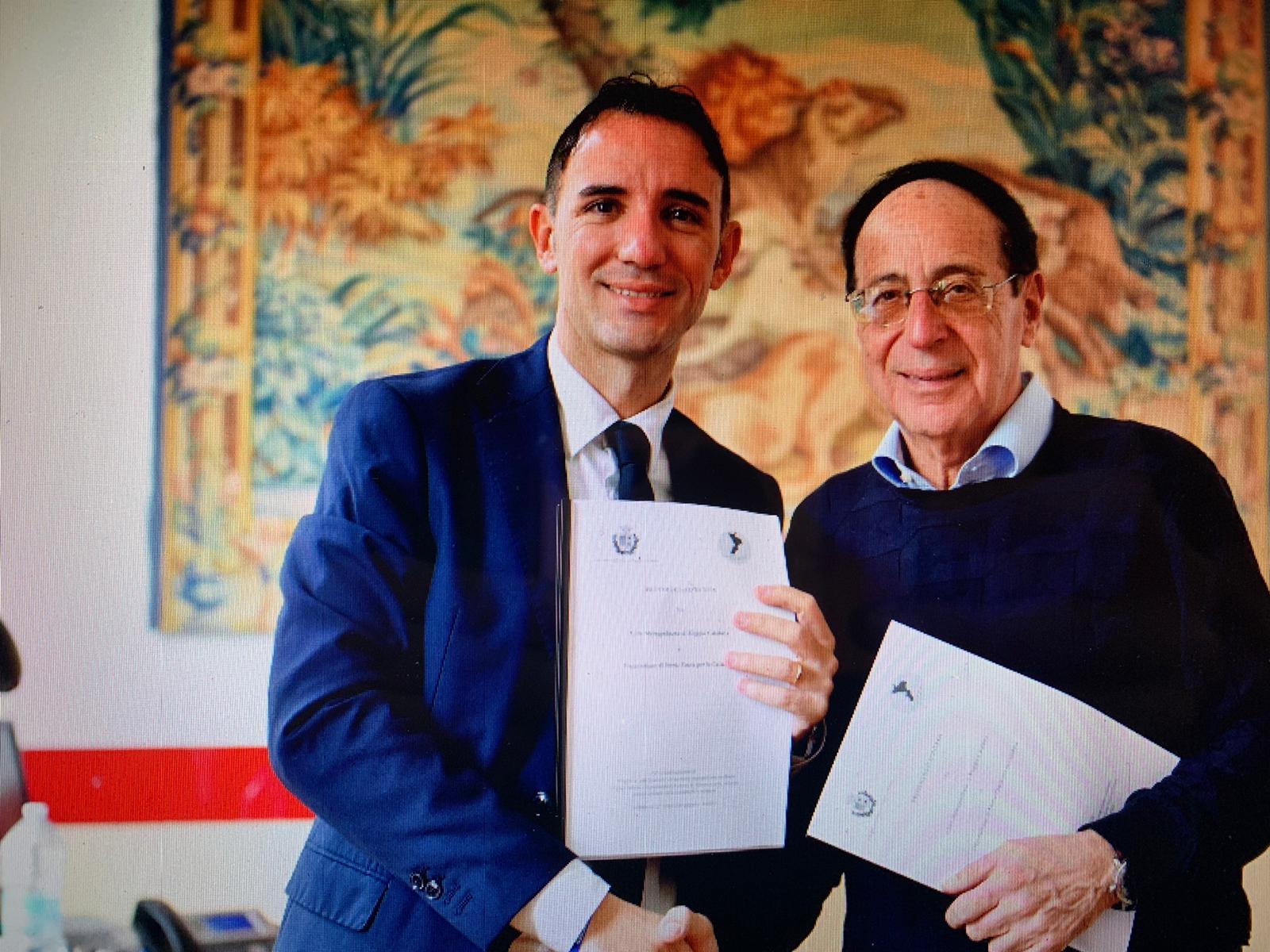 Eventi culturali, firmata l'intesa tra Metrocity e Deputazione di storia della patria