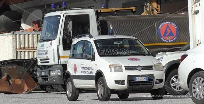 Ritrovati a Rosarno i mezzi della Protezione Civile rubati a Catanzaro