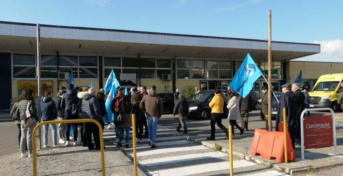 Aeroporto dello Stretto, Uilt Calabria sit-in per il ripristino di buone relazioni industriali