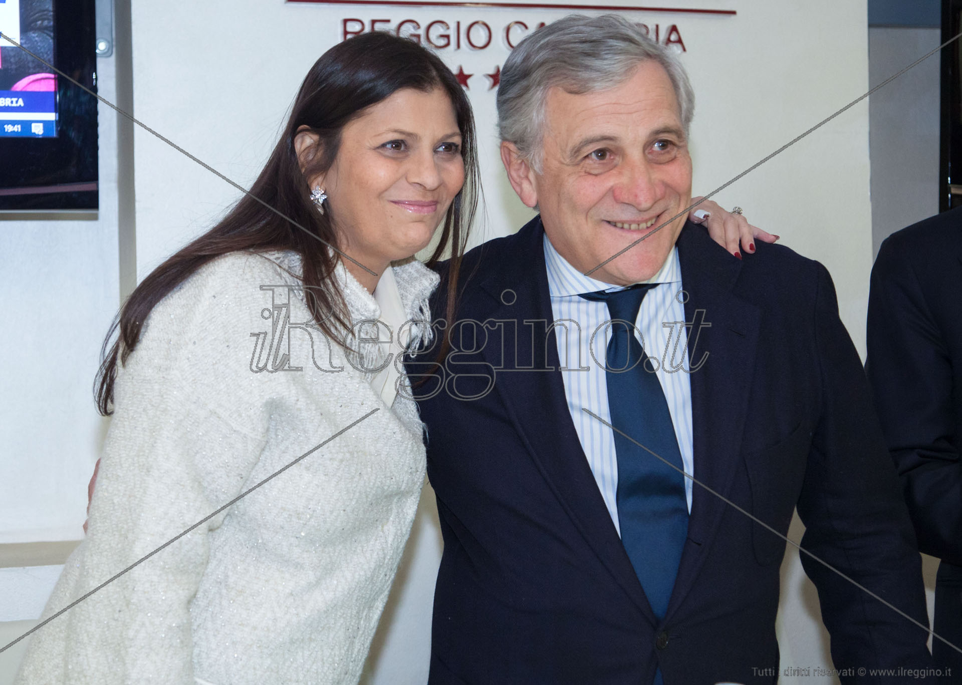 Tajani Al Fianco Di Jole Vinceremo E Fi Sara La Prima Forza In Regione Il Reggino
