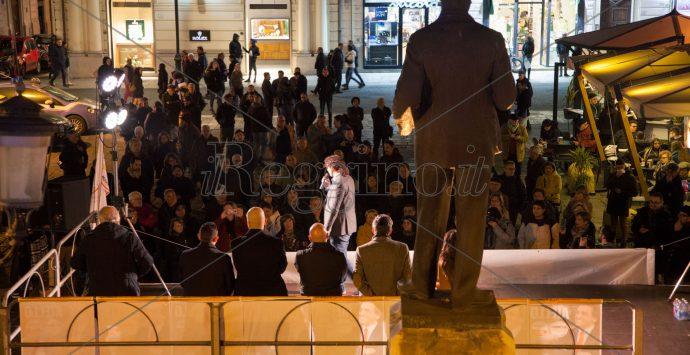 Flop del comizio di Aiello a Reggio. Lontani i fasti di Grillo a piazza Duomo