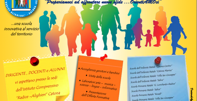 "Open day all'istituto comprensivo ""Radice – Alighieri"" di Catona"