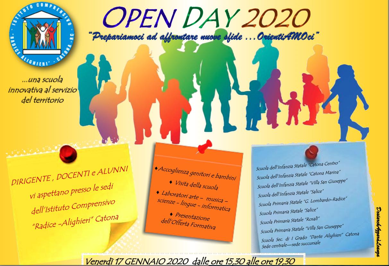 """Open day all'istituto comprensivo """"Radice – Alighieri"""" di Catona"""