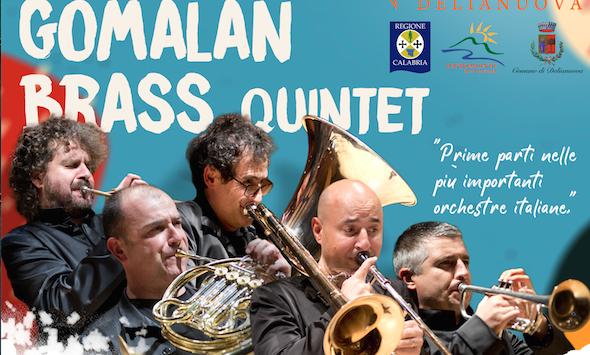 L'Orchestra giovanile di fiati di Delianuova collabora con Gomalan Brass Quintet