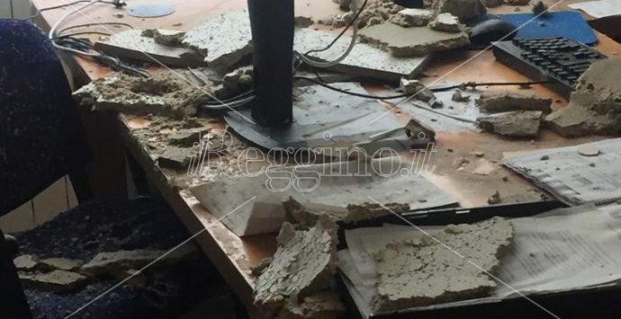 Ufficio dogane di Reggio Calabria distrutto dal maltempo