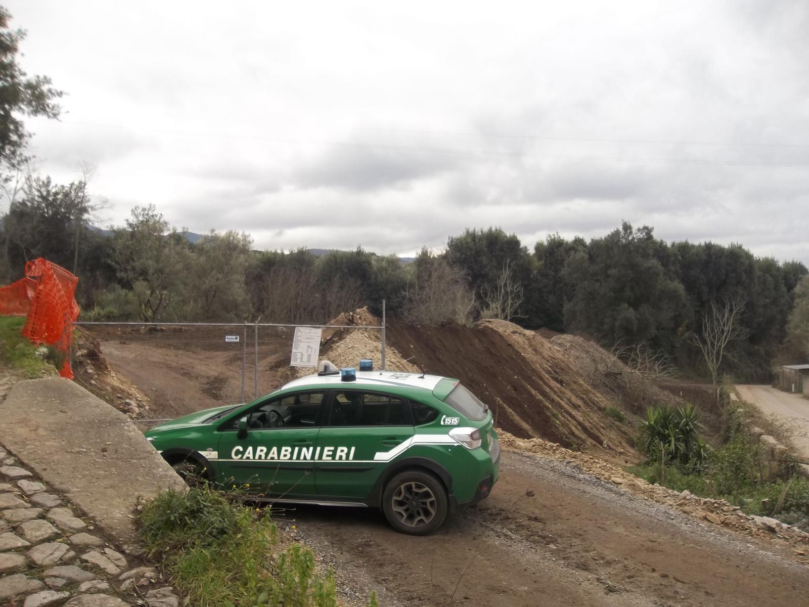 Area agricola trasformata in discarica, quattro denunce a Cittanova