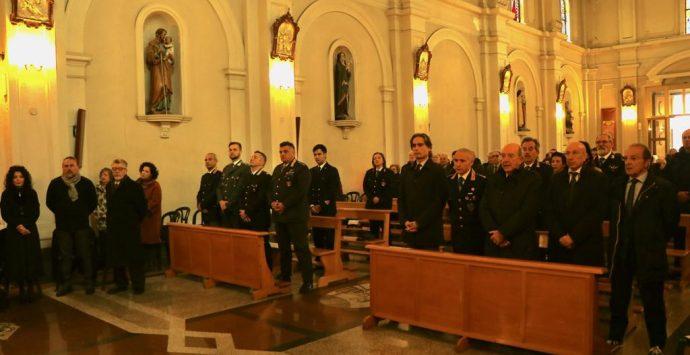 Morosini celebra la messa di San Sebastiano protettore della polizia municipale