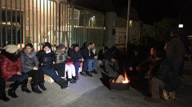 Siderno, nuova protesta dei lavoratori di Locride Ambiente