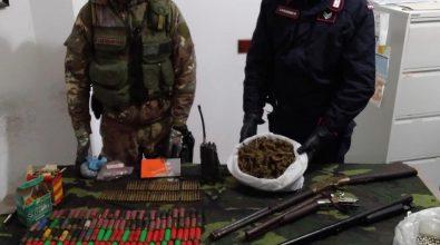 Blitz dei carabinieri a Ciminà. Rinvenute armi e droga