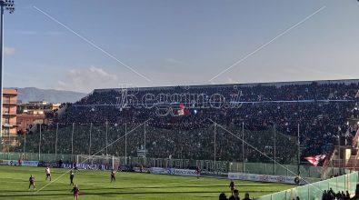 """Reggina-Bari, grande colpo d'occhio al """"Granillo"""""""