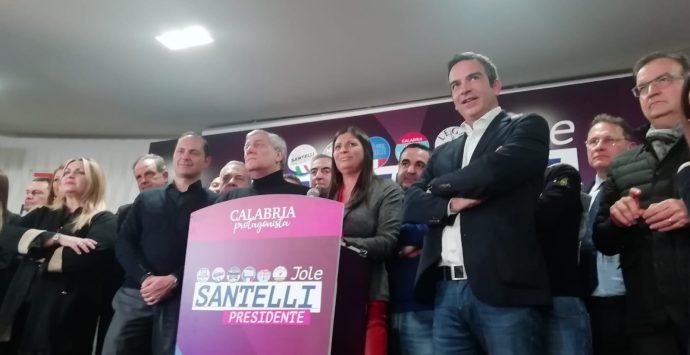 Elezioni regionali in Calabria, la Santelli incoronata governatrice