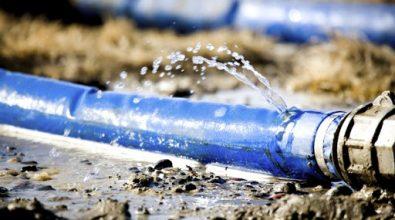 Diga del Menta, si rompe tubo: perdita d'acqua provoca crollo di un muro