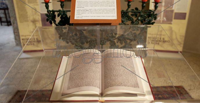 Castello Aragonese, in mostra permanente il commentario di Rashi