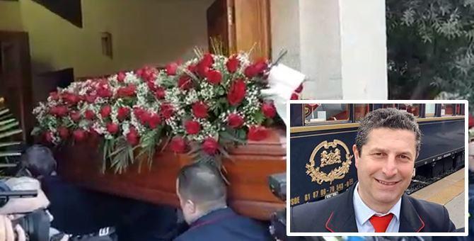 Treno deragliato, ai funerali di Giuseppe Cicciù lacrime e applausi