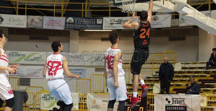 Basket, la Viola sconfigge il Nodo e servizi Rende 84 – 53