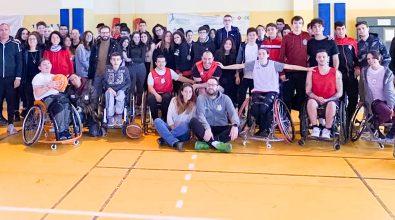 Basket in carrozzina, Sudinsieme Barletta – Farmacia Pellicanó' RC BIC: 30-71