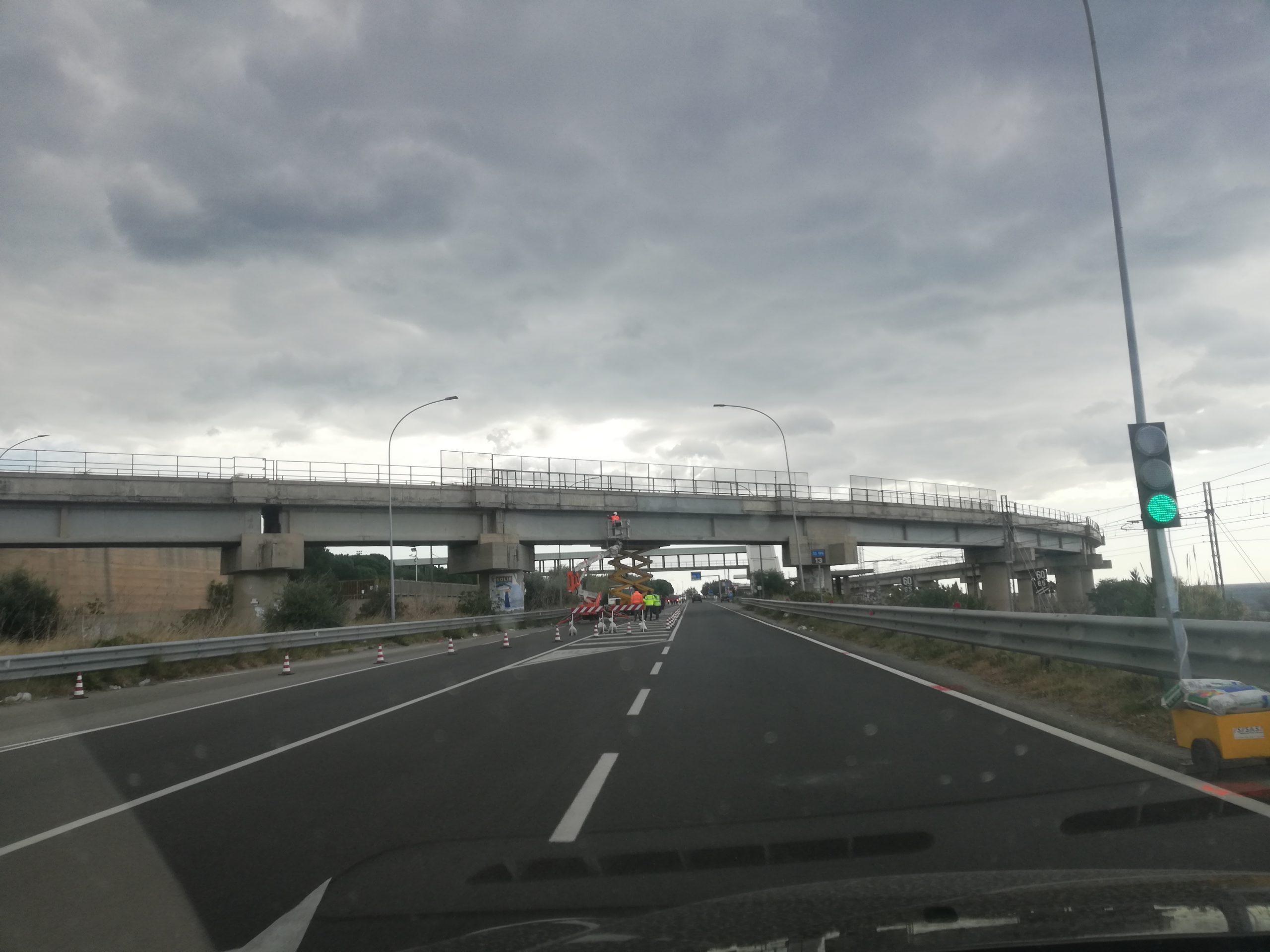 Saline, il viadotto degradato e l'impegno del sindaco Suraci