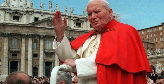 Anassilaos, il ricordo di Papa Giovanni Paolo II